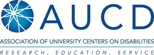 AUCD - Association of University Centers on Disabilities
