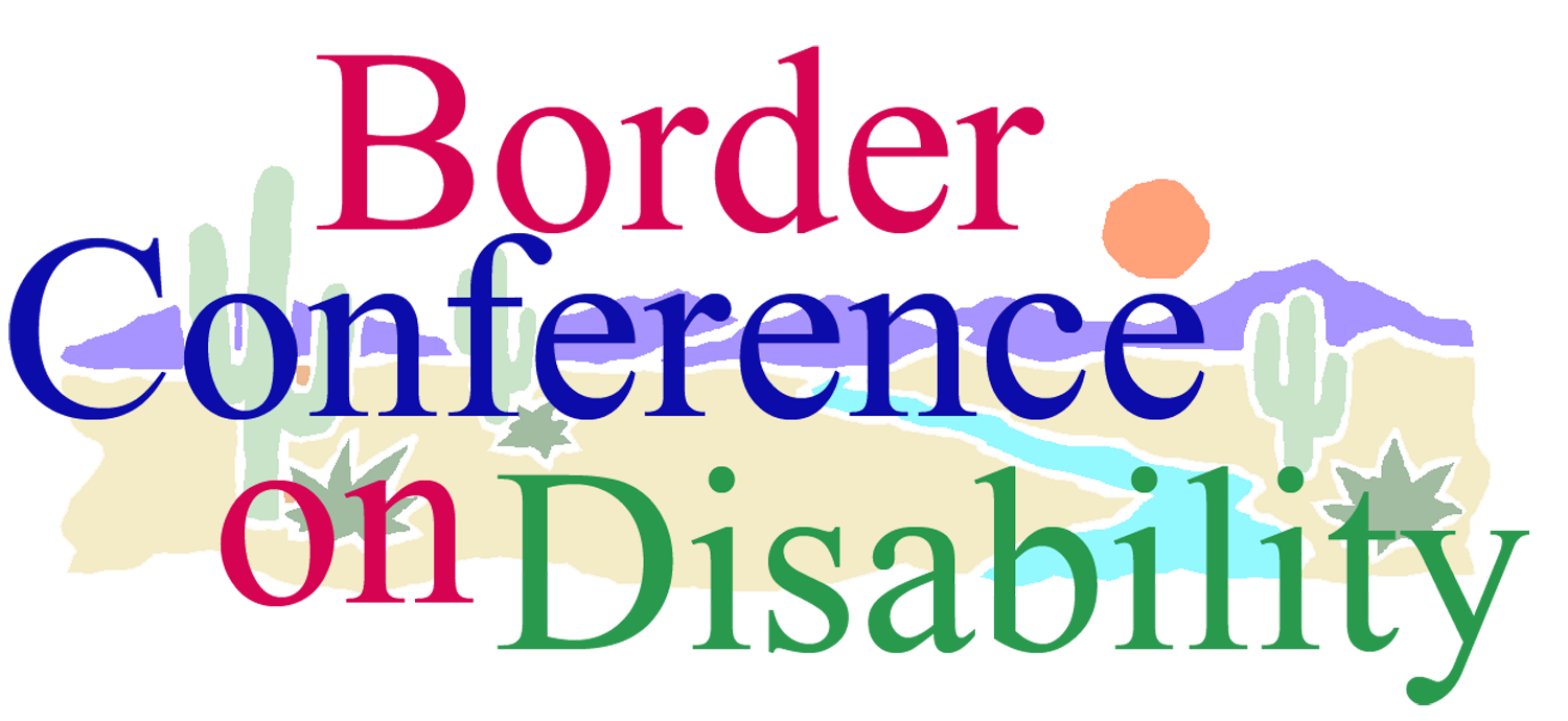 Border Conference on Disabilities logo