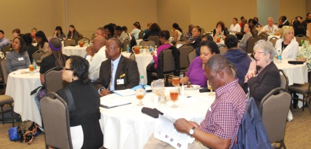 3rd Annual African American Symposium on Disabilities' attendees at the Keynote Luncheon