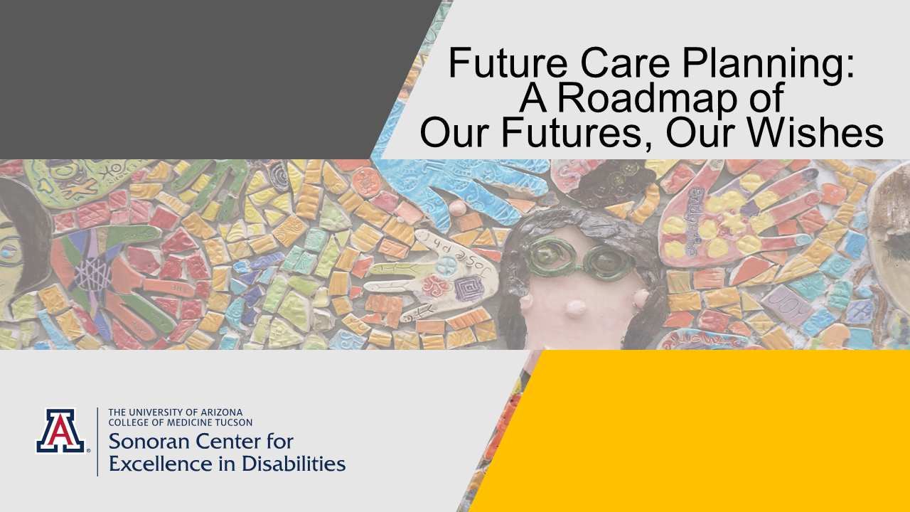 future care planning: a roadmap of our futures, our wishes