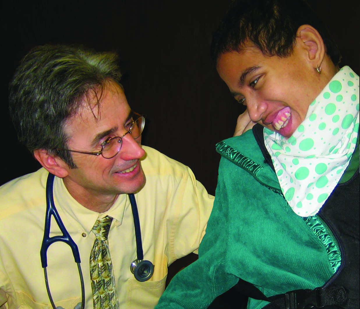 Dr. James Kerwin and Medical Home patient, Natara Pearson