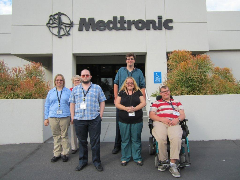 Project SEARCH at Medtronic Tempe Welcomes First Cohort of 5
