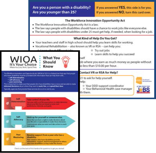 first page of WIOA handouts