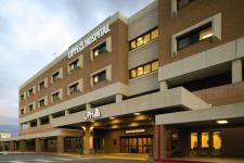 the front of the UPH Hospital at Kino in Tucson, AZ